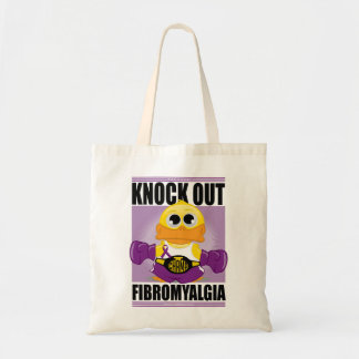 Knock Out Fibromyalgia Canvas Bag