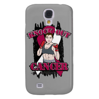 Knock Out Head and Neck Cancer Samsung Galaxy S4 Case