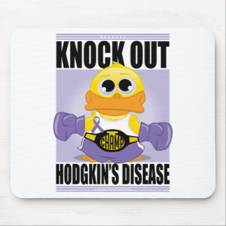 Knock Out Hodgkin's Disease Mouse Pad