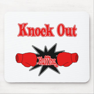 Knock Out Huffing Mouse Pad