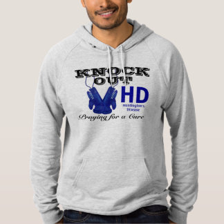 Knock Out Huntington's Disease HD Awareness Pullover