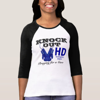 Knock Out Huntington's Disease HD Awareness T-Shirt
