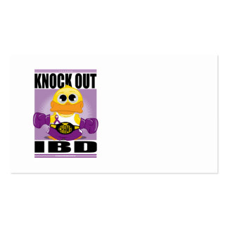 Knock Out IBD Business Card Template