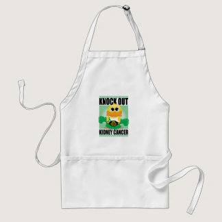 Knock Out Kidney Cancer Adult Apron
