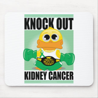 Knock Out Kidney Cancer Mouse Pad