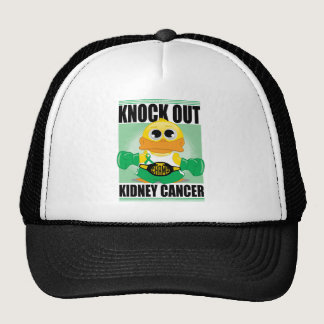 Knock Out Kidney Cancer Trucker Hat