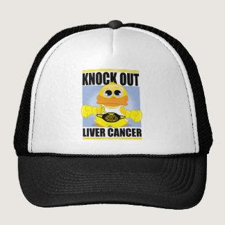 Knock Out Liver Cancer Trucker Hat