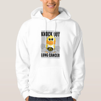 Knock Out Lung Cancer Hoodie