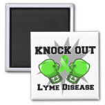 Knock Out Lyme Disease Refrigerator Magnets