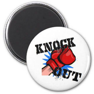 Knock Out Refrigerator Magnets