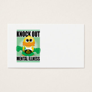 Knock Out Mental Illness Business Card
