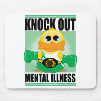 Knock Out Mental Illness Mouse Pad