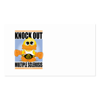 Knock Out Multiple Sclerosis Business Card