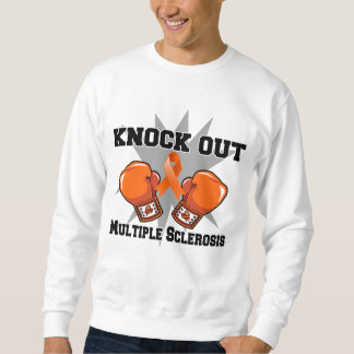 Knock Out Multiple Sclerosis Pull Over Sweatshirts