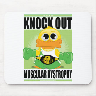 Knock Out Muscular Dystrophy Mouse Pad