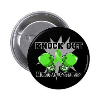 Knock Out Muscular Dystrophy Pinback Button