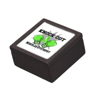 Knock Out Muscular Dystrophy Premium Keepsake Boxes