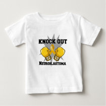 Knock Out Neuroblastoma Baby T-Shirt
