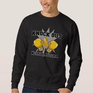 Knock Out Neuroblastoma Pullover Sweatshirts