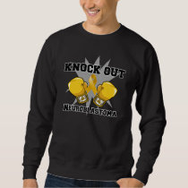 Knock Out Neuroblastoma Sweatshirt