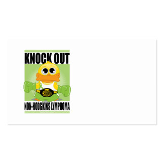 Knock Out Non-Hodgkins Lymphoma Business Card