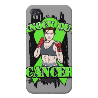 Knock Out Non-Hodgkins Lymphoma Cancer iPhone 4 Cases