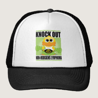 Knock Out Non-Hodgkins Lymphoma Trucker Hat