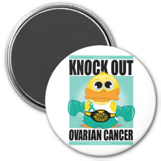 Knock Out Ovarian Cancer Magnet
