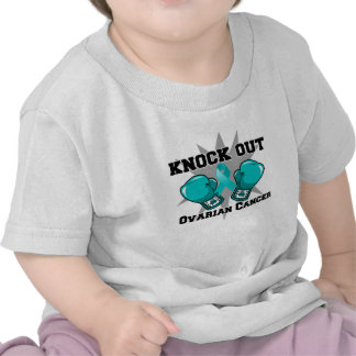 Knock Out Ovarian Cancer Tees