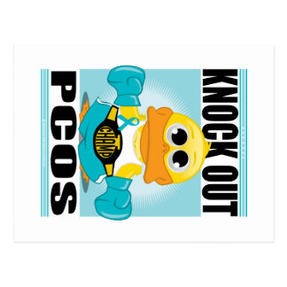 Knock Out PCOS Postcard