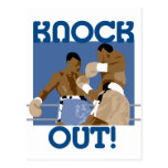 Knock Out! Postcard