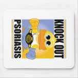 Knock Out Psoriasis Mouse Pad
