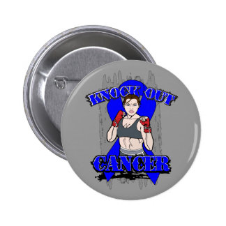 Knock Out Rectal Cancer Buttons