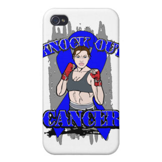 Knock Out Rectal Cancer Covers For iPhone 4