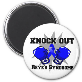 Knock Out Reye's Syndrome 2 Inch Round Magnet