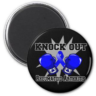 Knock Out Rheumatoid Arthritis 2 Inch Round Magnet