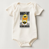 Knock Out Scoliosis Baby Bodysuit