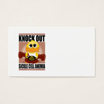 Knock Out Sickle Cell Anemia Business Card