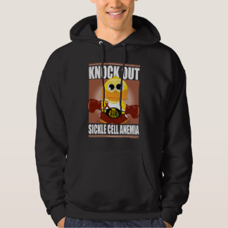 Knock Out Sickle Cell Anemia Hooded Sweatshirts