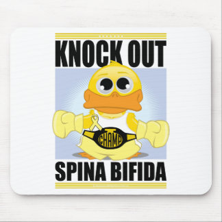 Knock Out Spina Bifida Mouse Pad