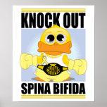 Knock Out Spina Bifida Print