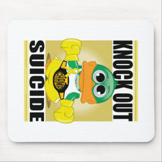 Knock Out Suicide Mouse Pad