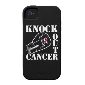 Knock Out Throat Cancer iPhone 4 Cases