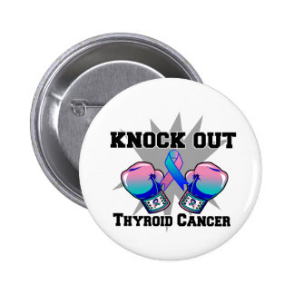 Knock Out Thyroid Cancer Pin