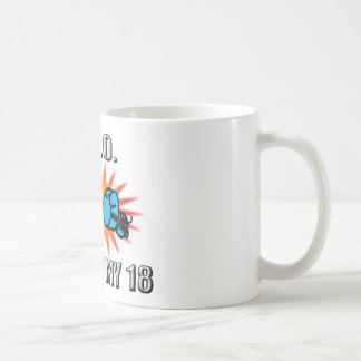 Knock Out Trisomy 18 Coffee Mugs