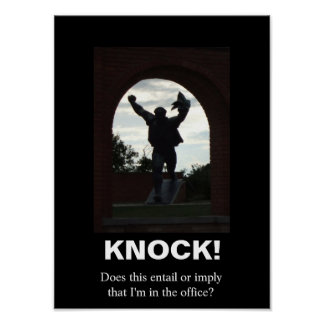 Knock! Poster