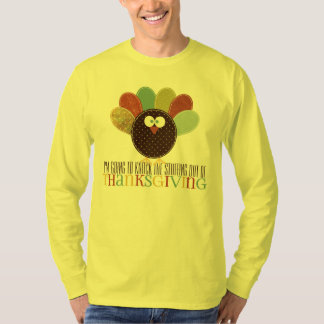 Knock the Stuffing Out of Thanksgiving Funny T-Shirt