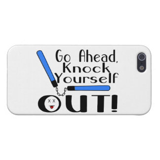 Knock Yourself Out Numchucks iPhone 5 Cases
