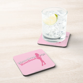 Knocked Up Knockout Baby Shower Mom-to-Be Coasters