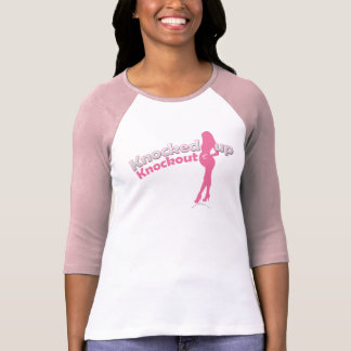 Knocked Up Knockout Baby Shower Mom-to-Be T Shirt